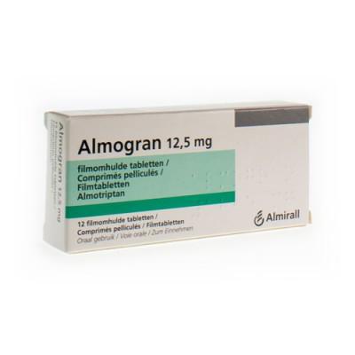 ALMOGRAN COMP 12 X 12,5 MG