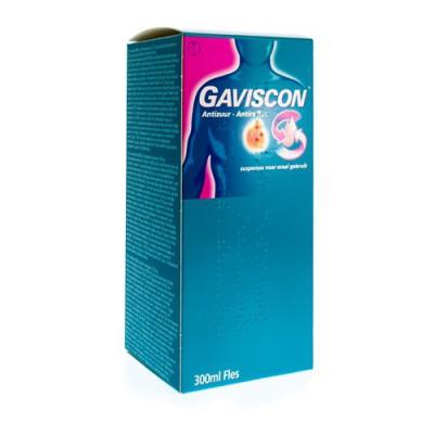 GAVISCON ANTIZUUR SUSP VOOR ORAAL GEBRUIK 300 ML