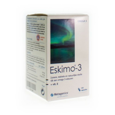 ESKIMO-3 CAPS 105X500MG 174 METAGENICS