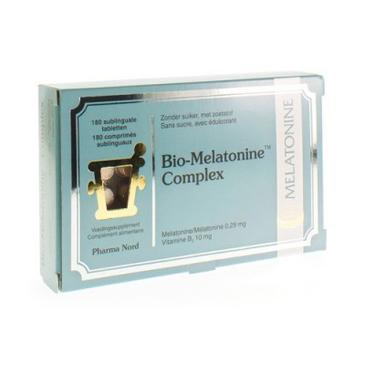 BIO MELATONINE COMPLEX COMP 180