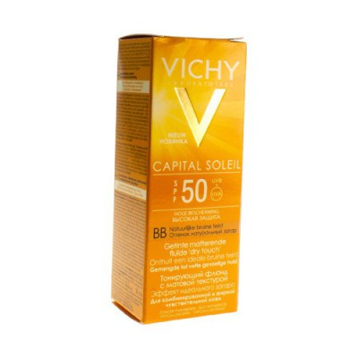 VICHY CAP SOL IP50 BB CREME DRY TOUCH 50ML