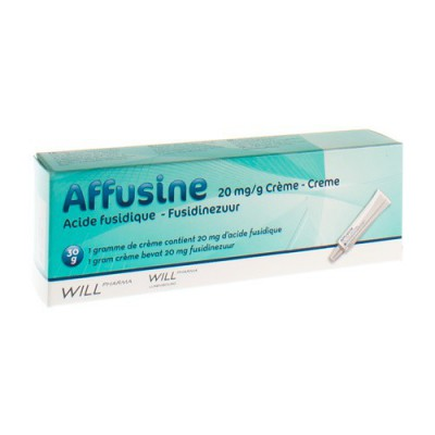 AFFUSINE 20 MG/G CREME TUBE 30 GR