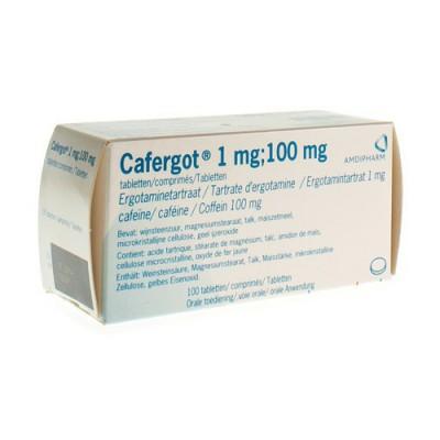 CAFERGOT COMP. 100