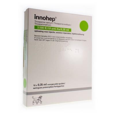INNOHEP SER SC 10 X 3500 IU 0,35ML