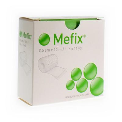 MEFIX ZELFKLEVENDE FIXATIE 2,5CMX10,0M 1 310250