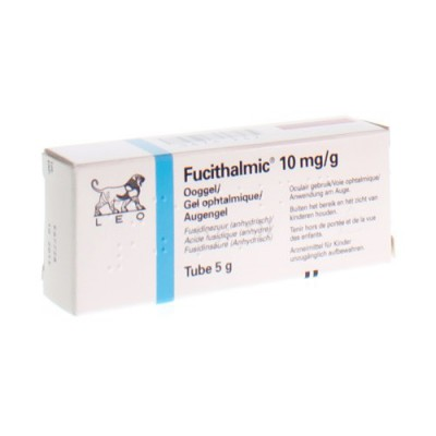FUCITHALMIC GEL OPHT 1X5G 1%