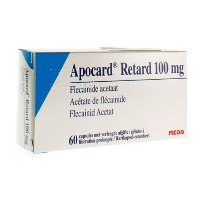 APOCARD RETARD CAPS 60 X 100 MG