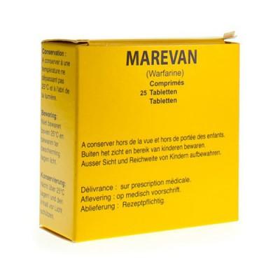 MAREVAN COMP 25 X 5 MG