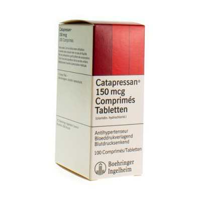 CATAPRESSAN 150 COMP 100X0,150MG