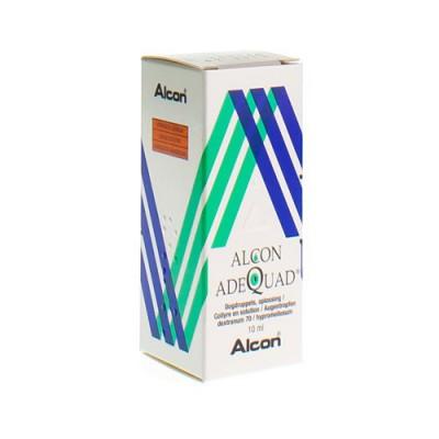 ALCON ADEQUAD COLLYRE 10ML