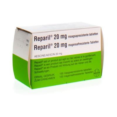 REPARIL COMP GASTRORESIST 100 X 20 MG