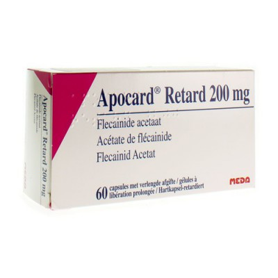 APOCARD RETARD CAPS 60 X 200 MG