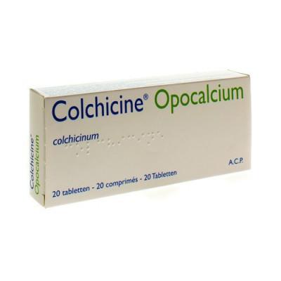 COLCHICINE OPOCALCIUM COMP 20X1MG