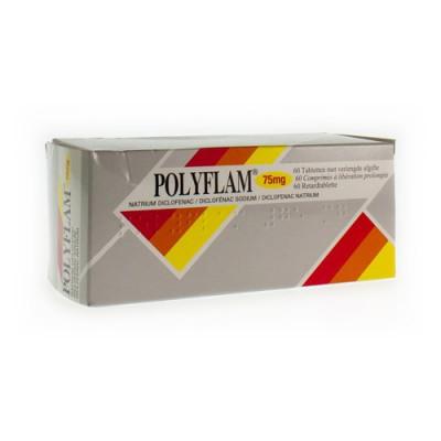 POLYFLAM TABL 60 X 75MG