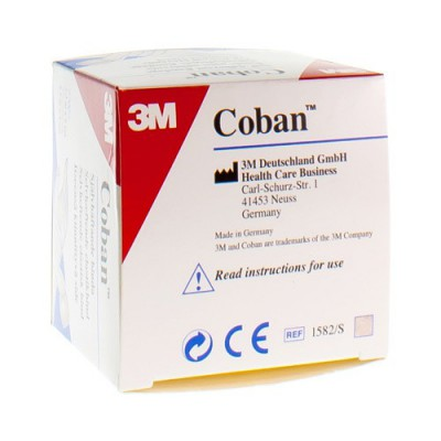 COBAN 3M REKVERBAND SKIN ROL 5,0CMX4,57M 1582/S