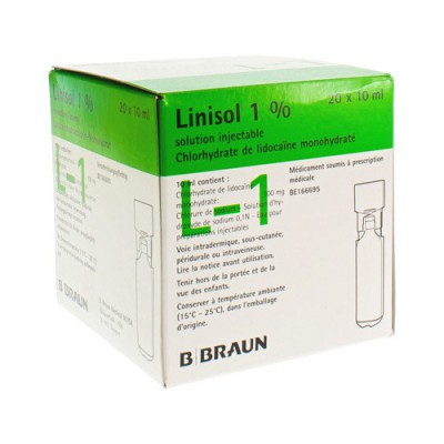 MINI PLASCO LINISOL 1% 100MG/10ML