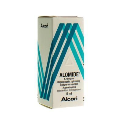 ALOMIDE COLLYRE 5ML 0,1%