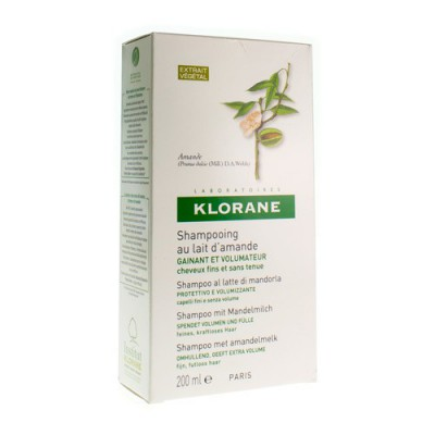 KLORANE SH AMANDELMELK 200ML