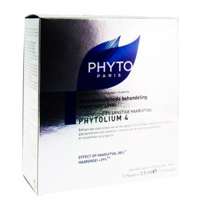 PHYTOLIUM 4 HAARUITVAL AMP 12X3,5ML
