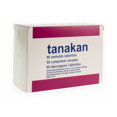 TANAKAN TABL 90 X 40 MG