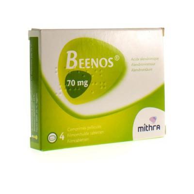 BEENOS COMP PELL. 4 X 70 MG