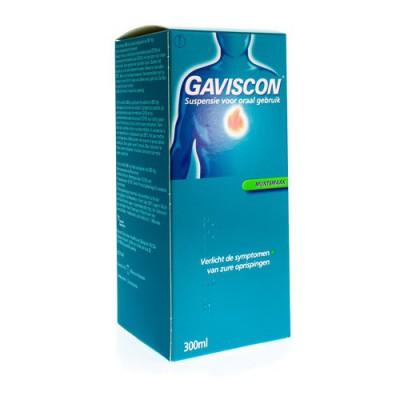 GAVISCON MENTHE MUNT SUSP BUV 300ML
