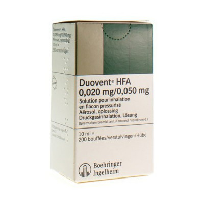 DUOVENT HFA AERO DOS 10 ML (200)