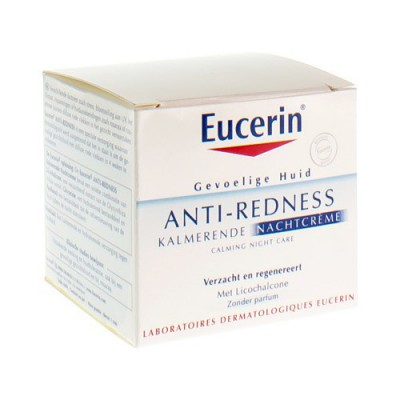 EUCERIN ANTI REDNESS KALMERENDE NACHTCREME 50ML