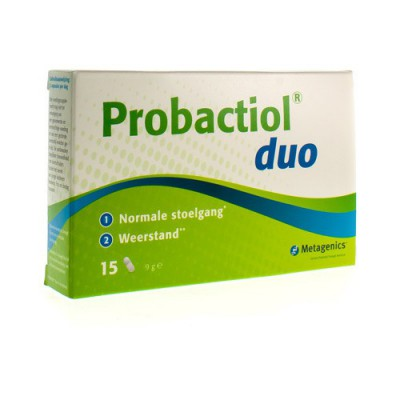PROBACTIOL DUO BLISTER CAPS 15 METAGENICS