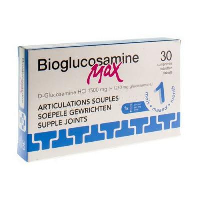 BIOGLUCOSAMINE MAX ZONDER MN COMP 30