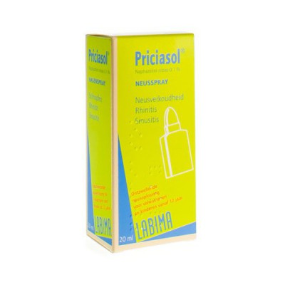 PRICIASOL N F SPRAY