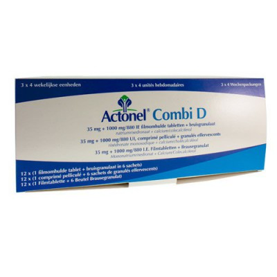 ACTONEL COMBI D COMP 12 X 35 MG + 72 SACH EFF 2,5