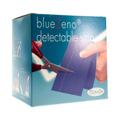 BLUEZENO DETECTABLE STRIP BLUE 7,5X5M 1