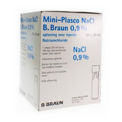 MINI PLASCO NACL 0,9 % AMP20X20ML