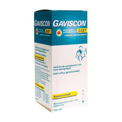 GAVISCON BABY SUSP VOOR ORAAL GEBRUIK 150 ML