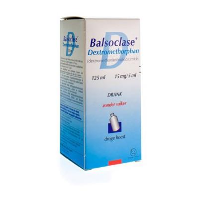 BALSOCLASE DEXTROMETORPHAN 125 ML