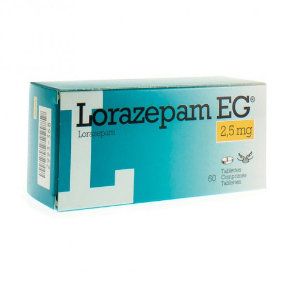lorazepam reaction time
