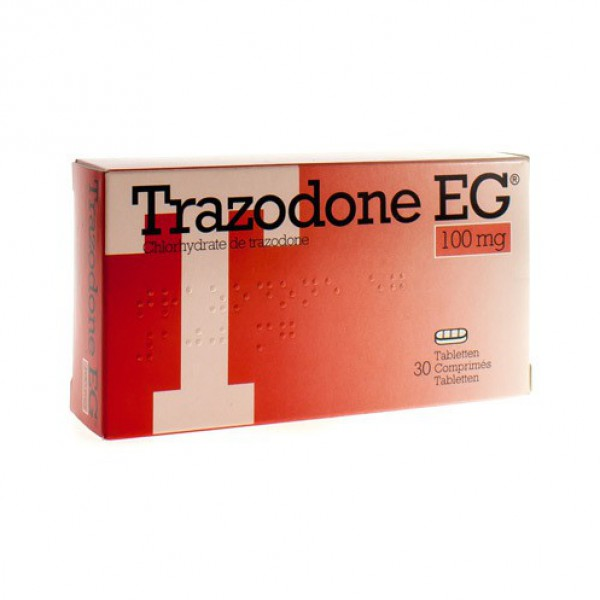 Desyrel 100 Mg 30 Tablet