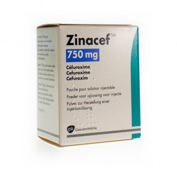 ZINACEF IM/IV BOLUS 1FLX 750MG | Apotheek Kerre
