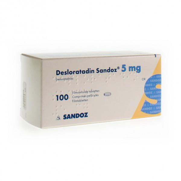 Desloratadine 5 Mg Indications