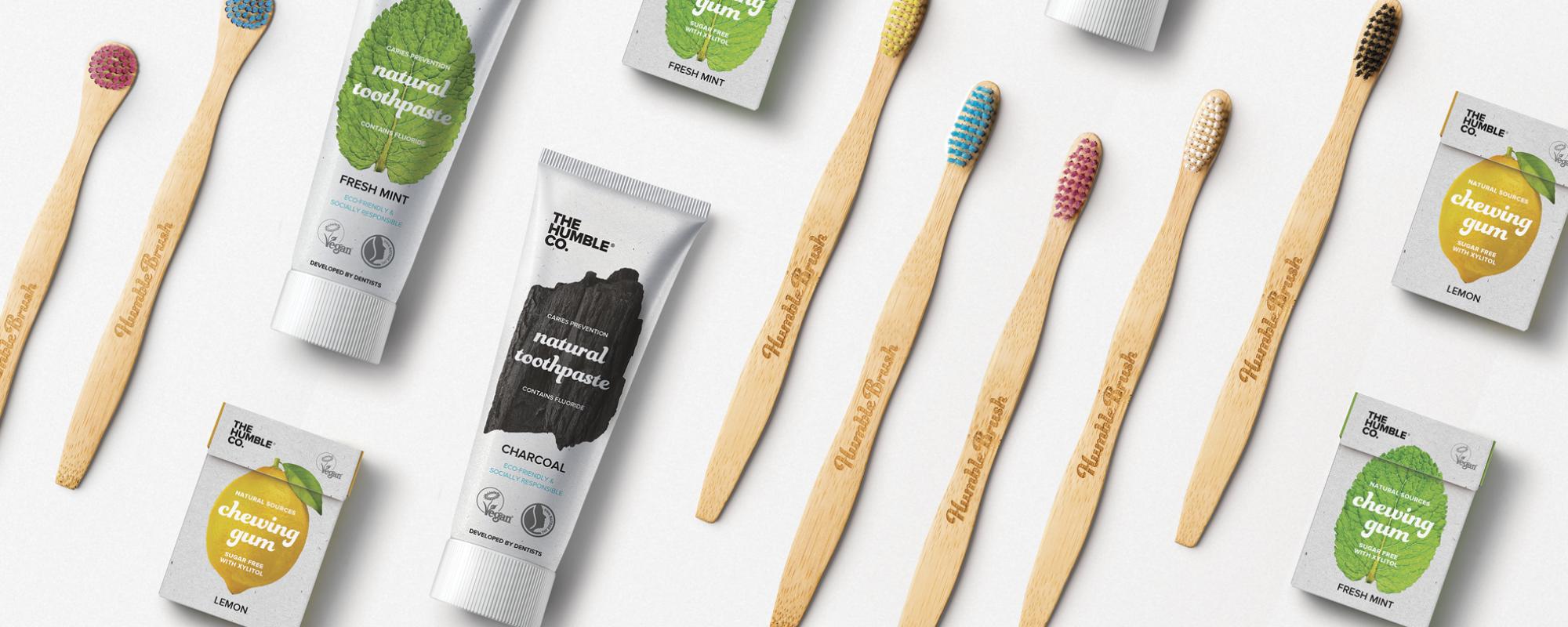 Nieuw: bamboe tandenborstels!